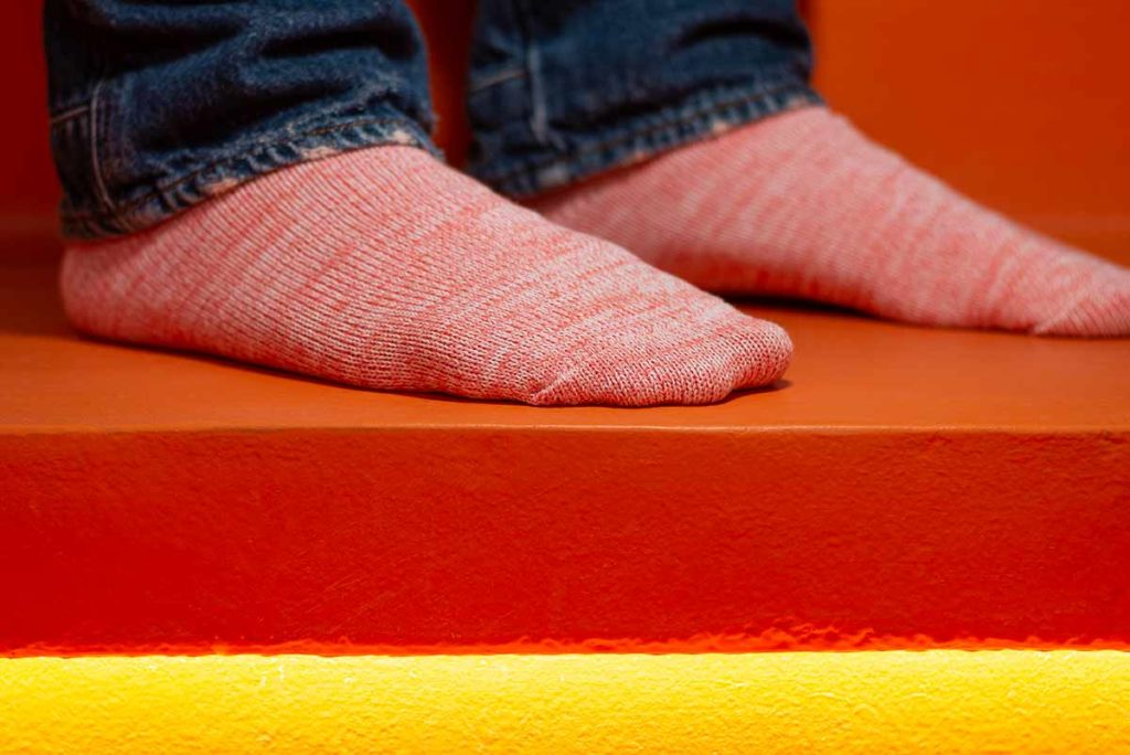 Arvin Goods Sock Review; Casual Twisted Sock Coral