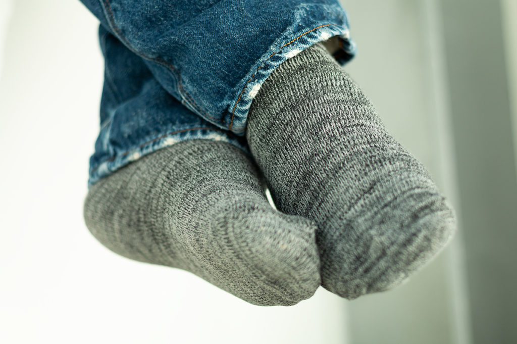Arvin Goods Sock Review; Casual Twisted Sock Black