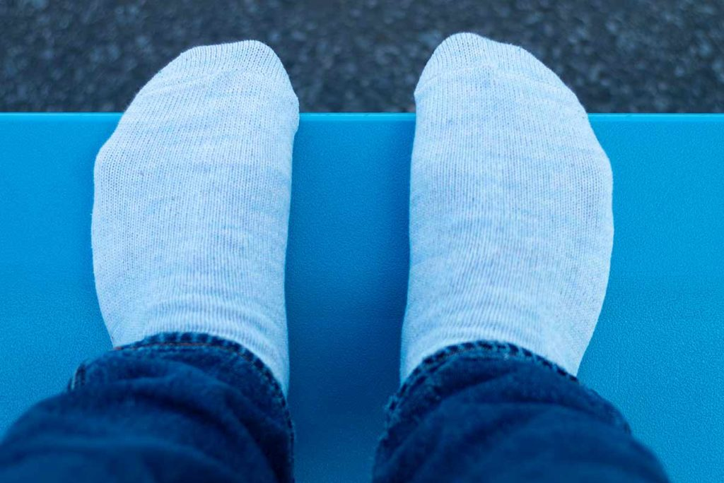 Arvin Goods Sock Review: Casual Twisted Sock Blue